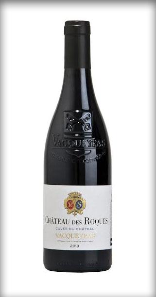 """La """"Cuvée du Château"""" Vacqueyras Rouge 2013"""
